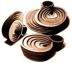 Anthony Roussel Wood rings