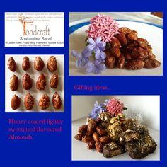 Honey coated Almonds