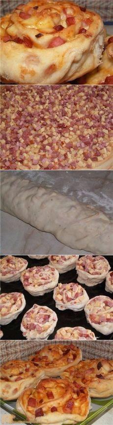 Как приготовить пиццы-розочки - рецепт, ингридиенты и фотографии