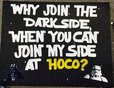 Star Wars Homecoming Proposal