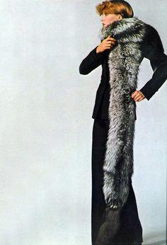 1972 - Saint Laurent by Peter Knapp Vogue UK