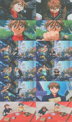 Duo, Endless Waltz Duo Maxwell, Endless Waltz, Gundam Wing, Mobile Suit, Guilty Pleasure, 4 Life, Anime Couples, Addiction, Wings