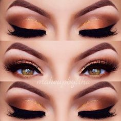 Pretty Makeup Ideas for Light Brown Eyes picture 1 #makeupideasforbrowneyes
