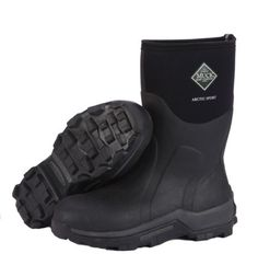 Brand New Muck Boot ASM-000A Men's Black Arctic Sport Mid Snow Boots