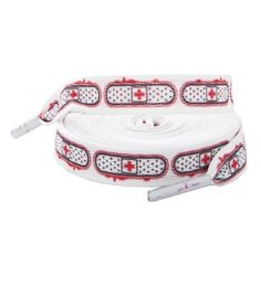 These laces are perfect for roller girls with attitude and style http://www.badsheepboutique.com/ouch-laces-280-p.asp