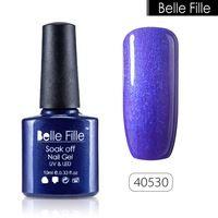 10ml UV Nail Gel Polish Clear Color Varnish Soak-off nail gel lacquer Easy DIY Nail Art Bling manicure Giltter Gel Polish