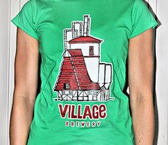 Village Brewery | Calgary Craft Brewery  T-shirts for sale | by Alden Alfon
