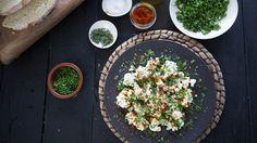 Trempette de ricotta aux herbes | Cuisine futée, parents pressés Quebec, Hummus, Dips, Appetizers, Lunch, Beignets, Sweet, Sauces, Buffet