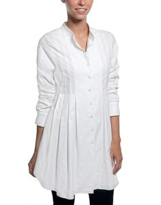 White Dietrich Cotton Tunic