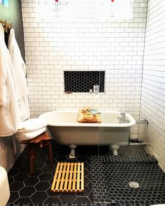 Bayless custom homes specializes in custom home building, luxury home building, and custom renovations. Do you have a renovation project in mind? Hexagon Tiles, Beautiful Bathrooms, Clawfoot Bathtub, San Antonio, Double Vanity, Custom Homes, Luxury Homes, Bathroom Ideas, Building A House