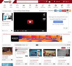 TeacherTube: vídeos y archivos educativos - Educación 3.0