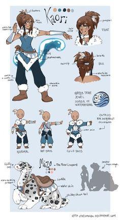 The legend of Korra: Kaori OC by Nekoshiba on deviantART