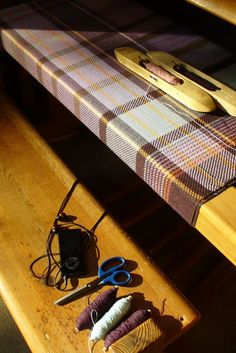 Zoe Acketts Textiles - Sun on the Loom