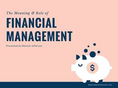 Pink and Navy Blue Financial Management Presentation - Templates . Presentation Slides, Presentation Templates, Financial Goals, Navy Blue, Pink Blue, Investing, Management, Blue Style, Activities