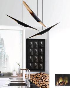 LED Hänge Lampe Exklusive Design Pendel Leuchte SCHNÄPPCHEN 28,8W LED EGLO Licht