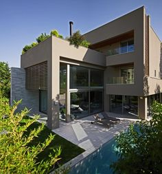 Modern House In Kifisia, Greece by Nikos Koukourakis