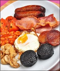Traditional Irish Breakfast Recipes had this for st. patricks, minus the black and white pudding