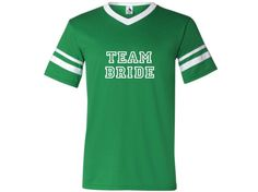 TEAM BRIDE Shirts Bridal Party Tee Bridesmaid by TheNewMrsShoppe, $17.99