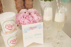 italian themed bridal shower | Gelato Bridal Shower Theme