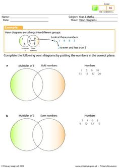 math worksheet : venn diagrams worksheets and names on pinterest : Set Theory Math Worksheets
