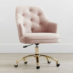 Twill tufted desk chair 57 trendy ideas for home office chair trendy ideas for home office chair decor home awesome ergonomic chair designs for your office Awesome Ergonomic Chair Designs for your Tufted Desk Chair, Desk Chair Teen, Teen Desk, Bedroom Chair, Bedroom Decor, Chair Cushions, Cool Desk Chairs, Pink Desk Chair, Swivel Chair