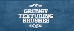 Check out the collection of 50+ Free sets of Photoshop brushes, which can be tremendously beneficial for designers