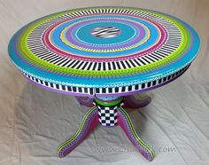 LOVE THIS!!!! Round Dining Table Balance Due by LisaFrick on Etsy
