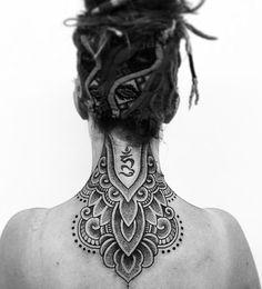 Nape Tattoo, Head Tattoos, Mini Tattoos, Body Art Tattoos, Sleeve Tattoos, Bow Tattoos, Tattoo Neck, Tatoos, Neck Tattoo For Guys
