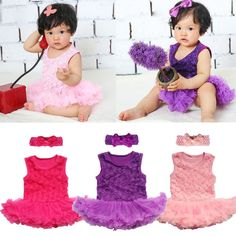 2PCS Toddle Baby Infant Clothes Romper Girl Outfits Tutus Newborn Dress New 2015 in Baby, Clothes, Shoes & Accessories, Girls' Clothing (0-24 Months) | eBay