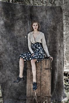 Scriptical.Wordpress.Hedvig Palm By Carl Bengtsson For Nygårds Anna Campaign  Fall 2012 .5