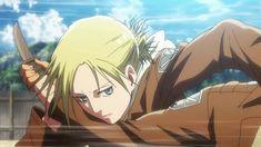 Mikasa, Attack On Titan, Female Titan, Annie Leonhart, Still Frame, Minor Character, Levihan, Lost Girl, Manga Anime