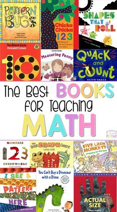 This is the ULTIMATE GUIDE to the BEST children's books for teaching math in primary! Perfect for teachers wanting to children's literature into math lessons. Read more for 4 reasons why and how-to suggestions. Includes a FREE printable book guide to the BEST math books for kids available! #mathforchildren