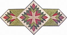 Quilting With Shar. CLEOPATRA'S FAN- pics of several variations