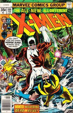 Cover for The X-Men (Marvel, 1963 series) #109