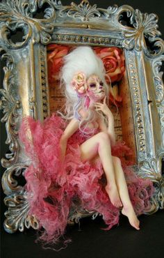 polymer clay dolls ~Nicole West
