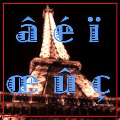 "! ""1 Accent Words of 'Learn Basic French'"