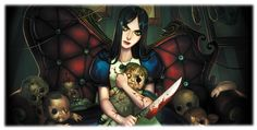 """Buy Print Anime Poster """"Alice Madness Returns, American McGee 's Alice, Alice in Wonderland """" Art Decor in. at Cute - Beauty Shopping Alice Liddell, Alice Madness Returns, Lewis Carroll, Pandora Hearts, Geeks, Chesire Cat, Dibujos Cute, Were All Mad Here, Arte Horror"""