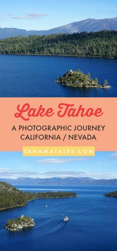 Things to do in Lake Tahoe - #California #Nevada #USA – Travel ideas for summer or winter, for a honeymoon or with kids - I am still in awe because of the many gorgeous spots we were able to witness at Lake Tahoe.  The turquoise waters, snow-covered mountains, verdant pines, amazing trails and puffy clouds left an indelible mark on my memory. I want to take this opportunity to present you with Lake Tahoe pictures! #EmeraldBay #SouthLakeTahoe