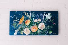 "Kate Freeman Art 12"" x 24"" | SOLD"