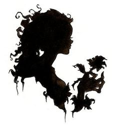 Victorian silhouette by Abigail Larson (I really want this ...