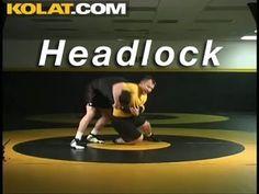 Headlock from 2 on 1 KOLAT.COM Wrestling Techniques Moves Instruction