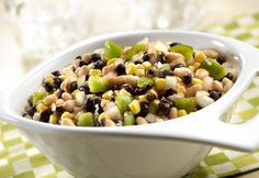 Campbell's Kitchen: Black and White Bean Salad