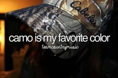 Camo Is My Favorite Color. Hi I'm Sandra and I'm a camo addict and proud of it! Country Girl Style, Country Boys, Country Life, Country Music, Country Living, Hunting Camo, Hunting Girls, Southern Pride, Southern Belle