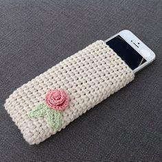 Crochet Mobile Phone CaseiPhone Crochet by CottonFieldsCrochet
