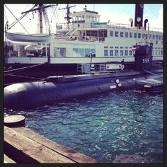 For Brian- Submarine at San Diego Maritime Museum.
