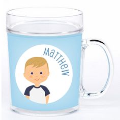 personalized cup   boy