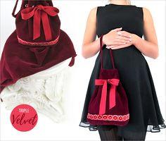 d8950abffabd Triple Velvet Evening Bag  Fabric Depot