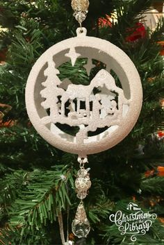 Christmas Ornaments available at Ruth's Attic inside the Billy Graham Library