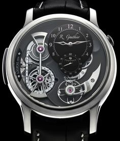 Romain Gauthier Logical One Natural Titanium Watch Watch Releases