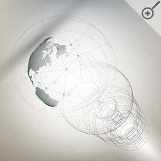 Bundle of Abstract 3D world globes by VectorShop on @creativemarket